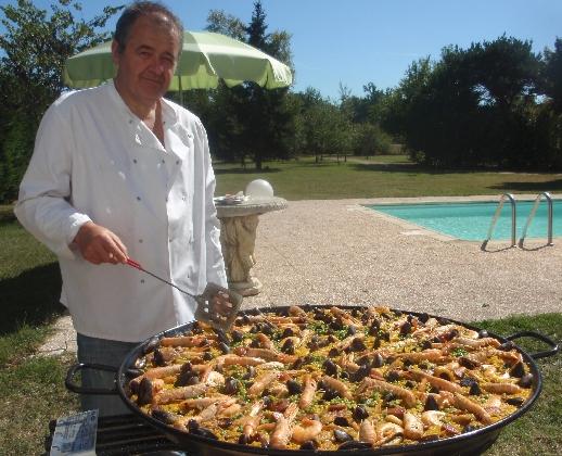 Recette paella au safran recette vraie paella espagnole - Recette de la paella espagnole ...